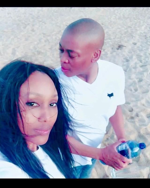 Zoe Mthiyane and