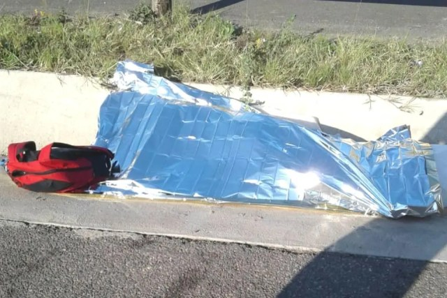 Woman killed in Accident