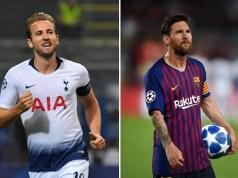 Kane vs Messi