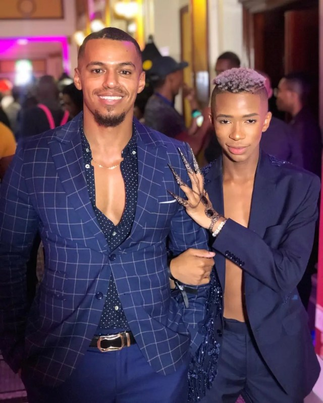 Cedric Fourie and Lasizwe