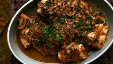 Chicken with marsala