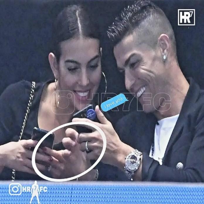 Cristiano and Georgina