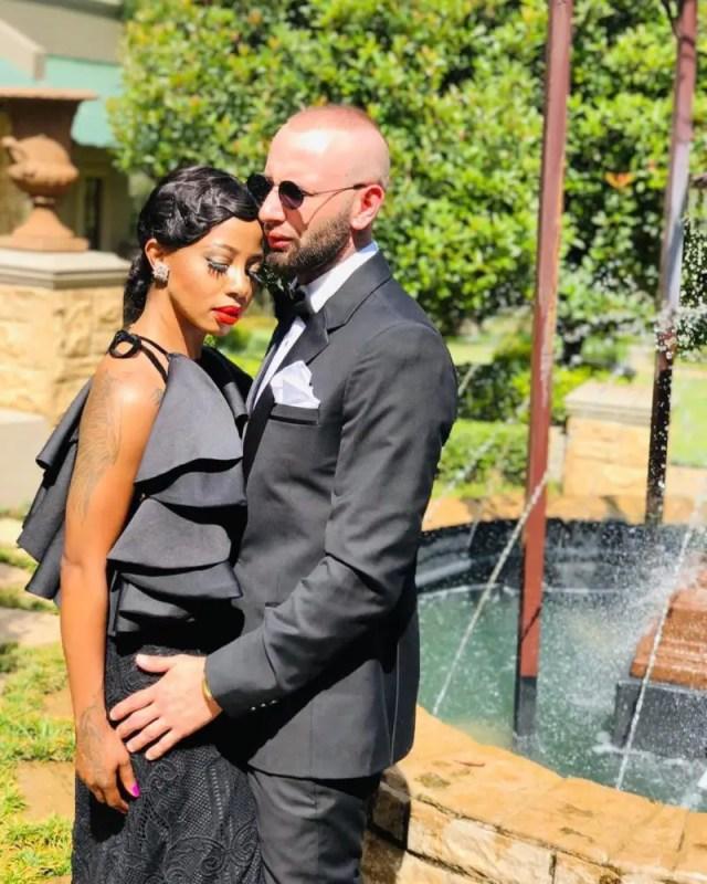 Kelly Khumalo and Chad