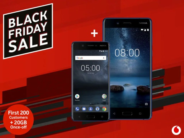 Vodacom Black Friday 2018