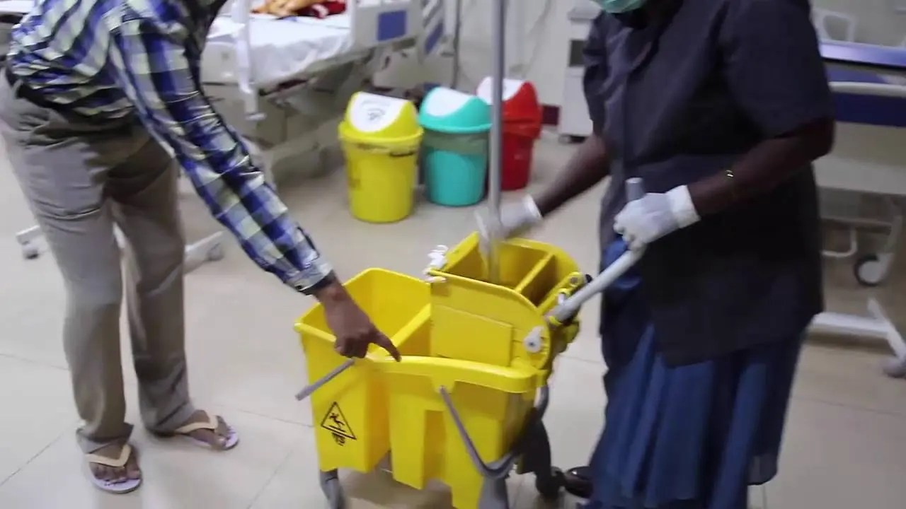Hospital Cleaner urgently wanted: Salary R6 000 per month