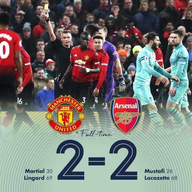 Manchester United v Arsenal