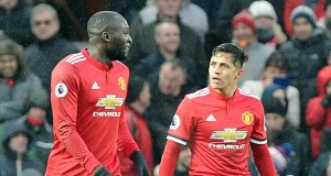 Sanchez and Lukaku
