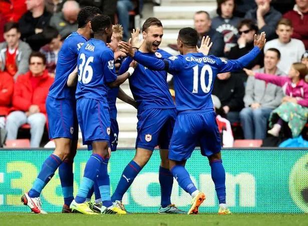 Southampton v Cardiff-City