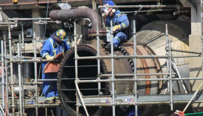 Boilermaker wanted immediately: Salary R43 000 per month
