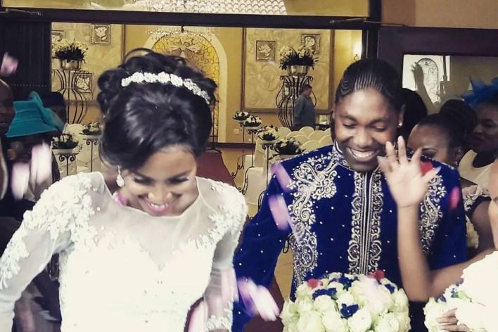 Caster Semenya and Violet