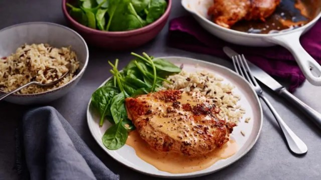 Creamy paprika chicken