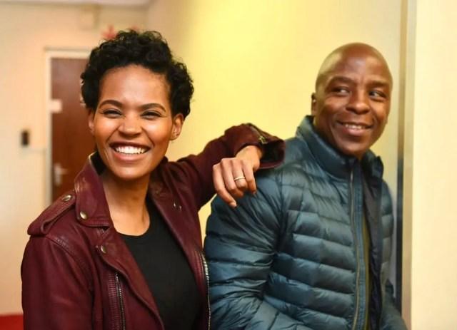 Gail and Kabelo Mabalane