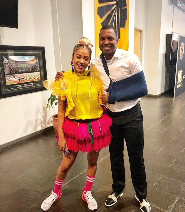 Itumeleng Khune and Show