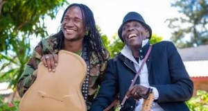 Jah Prayzah and Oliver Mtukudzi