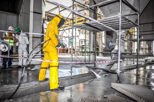 Manufacturing Factory Cleaners