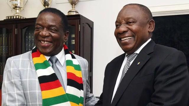 Ramaphosa and Mnangagwa