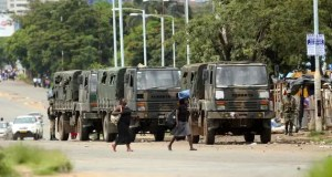 Zimbabwe soldiers