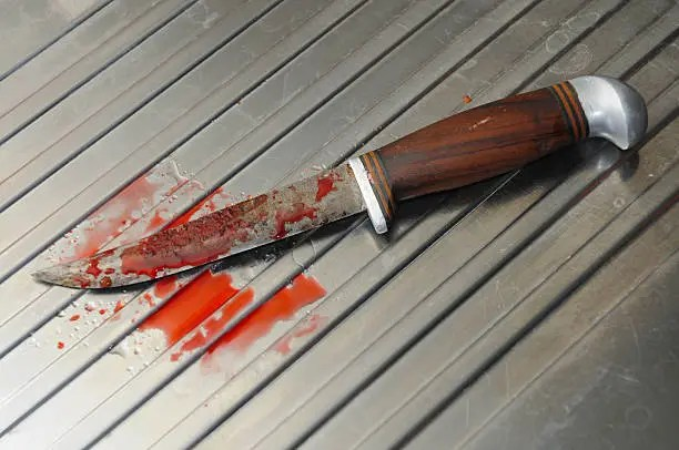 blood knife