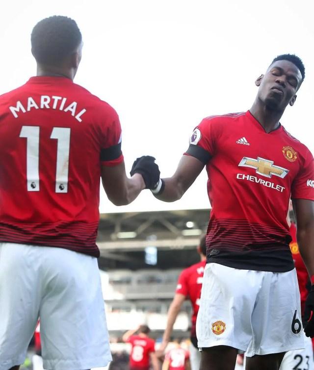 Manchester United 3 - 0 Fulham