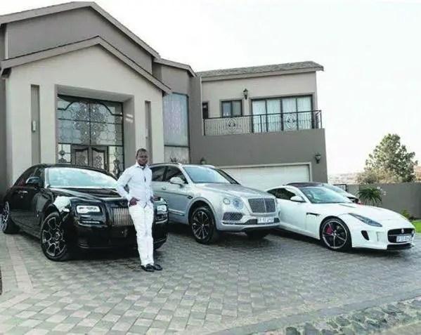 Prophet Bushiri's cars