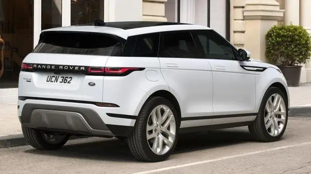 Range Rover Evoque back view