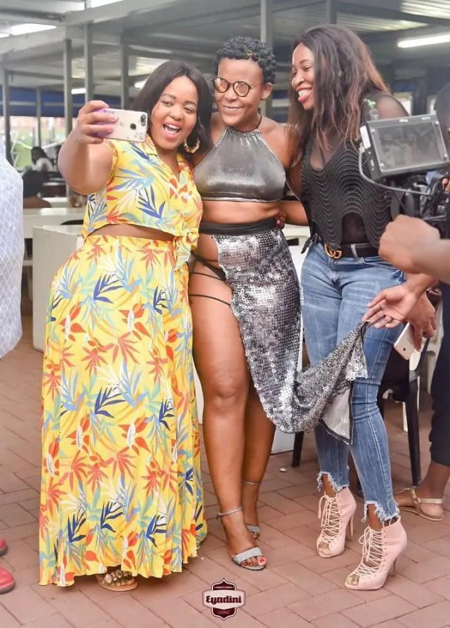 Zodwa Wabantu and Fans