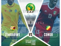 Zimbabwe Warriors lead 2 - 0 Congo Brazzaville