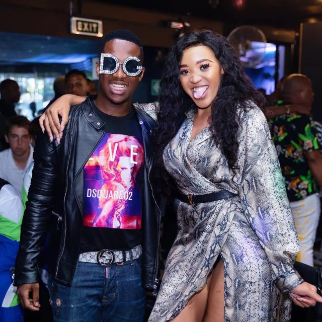 Andile and Sbahle Mpisane