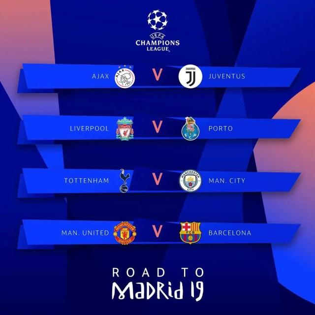 Champions League fixture
