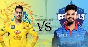 Delhi Capitals vs CSK