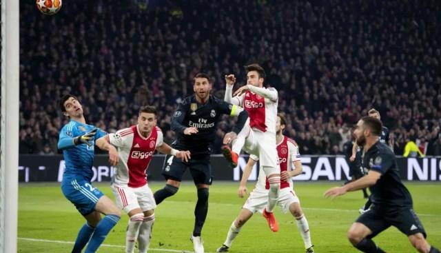 Real Madrid vs Ajax CL