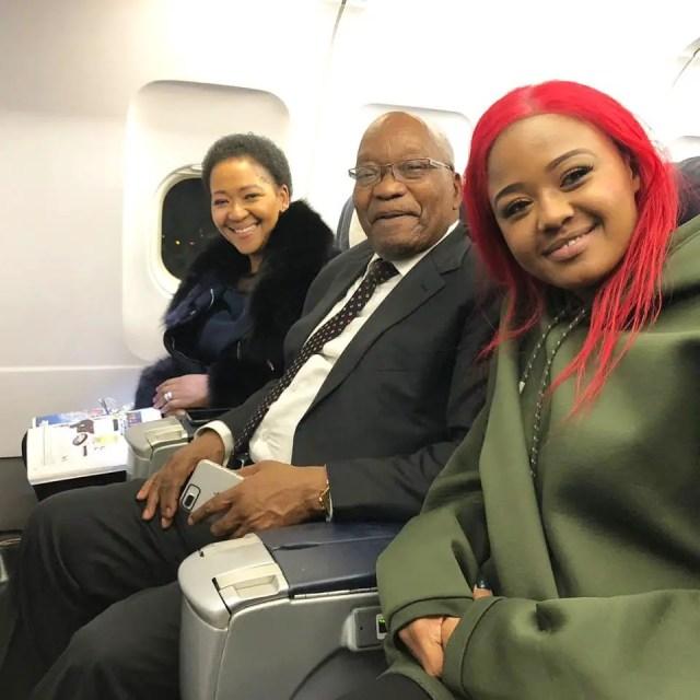 Babes Wodumo and Zumas