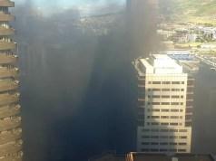 Cape Town train fire