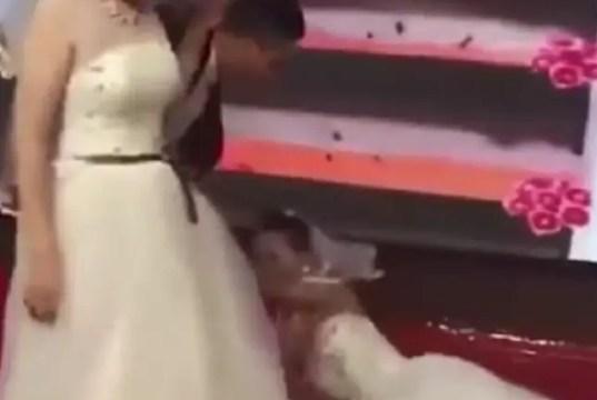 Ex Girlfriend Gatecrashes Wedding