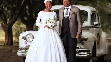 Photo of Muvhango actress Innocent Makapila is now married