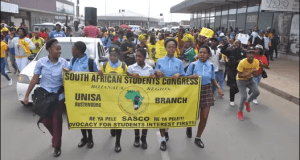 Pupils march