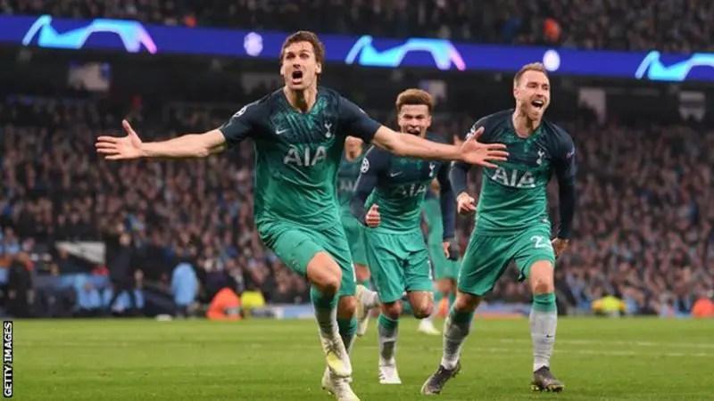 Man City vs Spurs