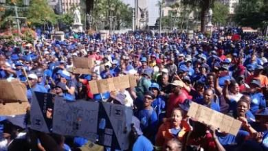 Photo of eThekwini municipal workers strike