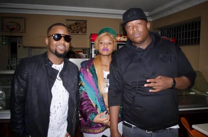 Babes Wodumo and Cassper Nyovest