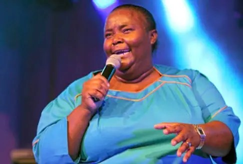 Gospel star Hlengiwe Mhlaba