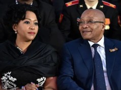 Jacob Zuma and wife Tobeka