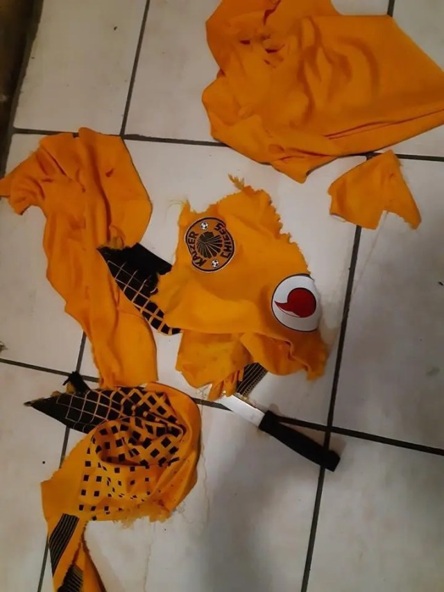 Kaizer Chiefs Ripped Jersey