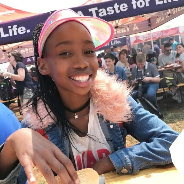 Phindile Gwalaand her Daughter1