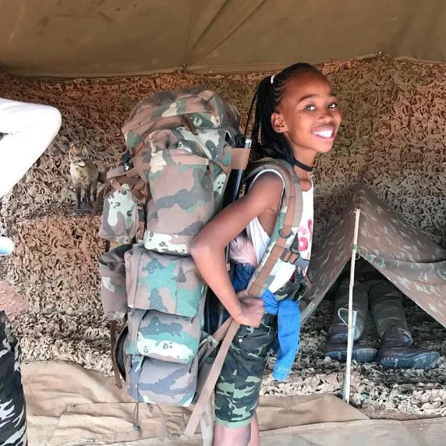 Phindile Gwalaand her Daughte