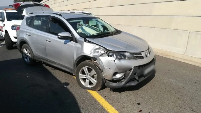 Sandton crash