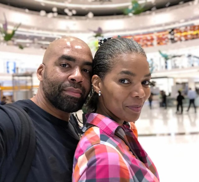 Shona and Connie Ferguson