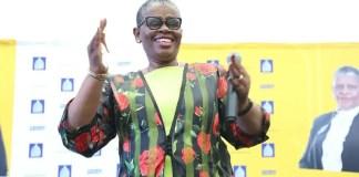 Mayor Zandile Gumede