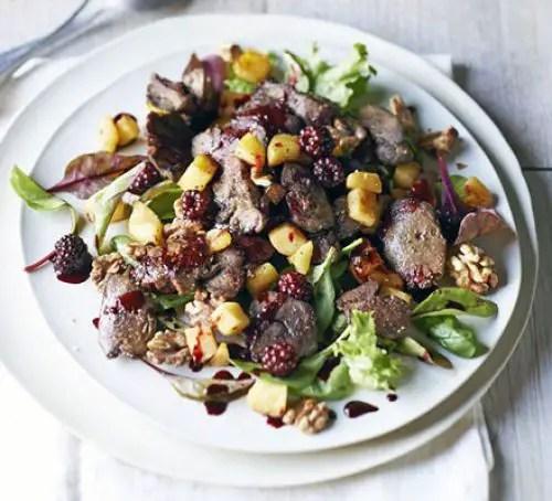 chicken liver salad