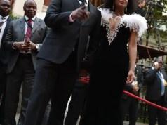 Bheki Cele and his wife
