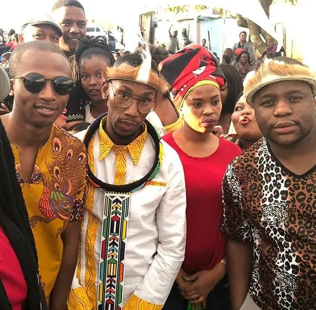 Cornet Mamabolo's Traditional Wedding